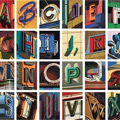 Robert Cottingham's An American Alphabet