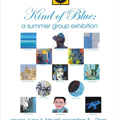 Kind of Blue: A Summer Group Exhibition