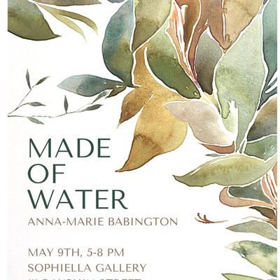 ANNA-MARIE BABINGTON   MADE OF WATER