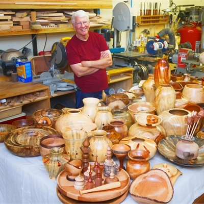 Wood Turning Demonstration with John Williams