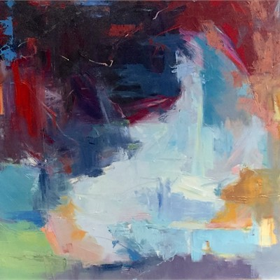 Raw: Abstract Works by Marissa Vogl, Sandy Oustra, Susan Altman, and Laurie Meyer