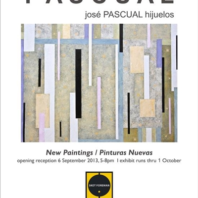 "Jos� PASCUAL Hijuelos: ""New Works"""