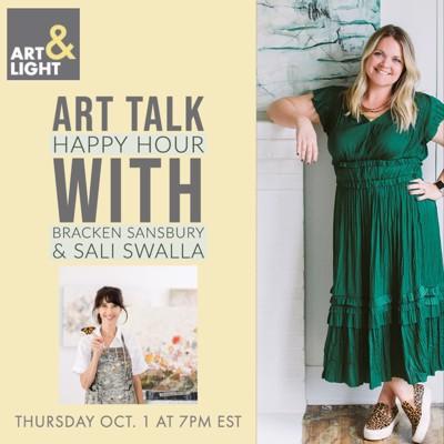 Art Talk Happy Hour with Sali Swalla