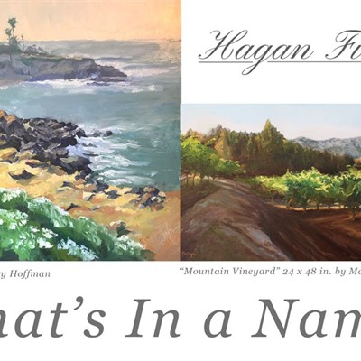 """What's In a Name?"" Our season opener featuring Mary Ann Cope & Mary Hoffman"