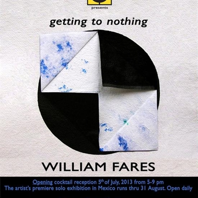 Getting to Nothing: The Self-Referential Drawings of William Fares