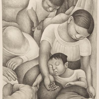 Diego Rivera: El Sueño (La Noche de los Pobres)