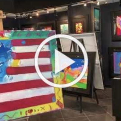 Fine Art Therapy - Virtual Peter Max Exhibition