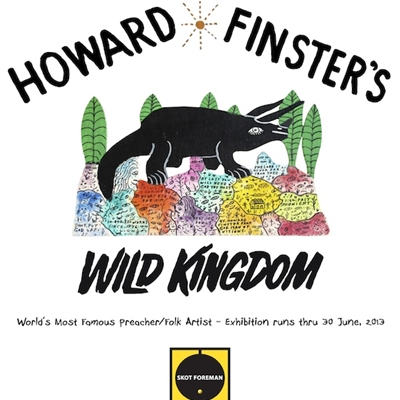 Reverend Howard Finster's Wild Kingdom!