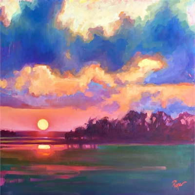 Tammy Papa: The Colors in Between; Pastel & Oil Paintings -- Reception on Oct.4, 5-8 pm | Dare Gallery