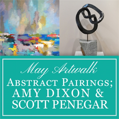 Abstract Pairings: Amy Dixon & Scott Penegar