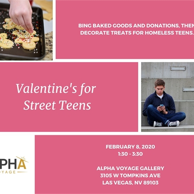 Valentine's for Street Teens