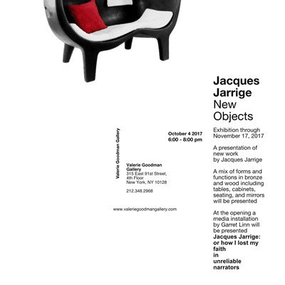New Works by Jacques Jarrige