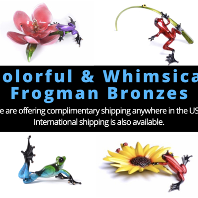 Fine Art Therapy Happiness and Joy From The Frogman