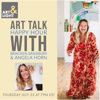 Art Talk Happy Hour: Angela Horn of Horn House Love