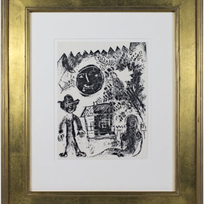 Marc Chagall: Original Color Lithographs