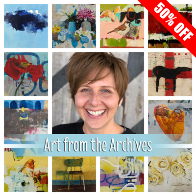 Art from the Archives: 50% Off Jennifer Rasmusson