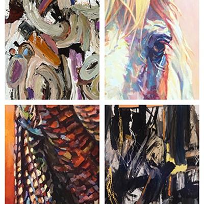 """Flora and Fauna"" Meet The Artists Patricia A. Griffin & Susan Robert"