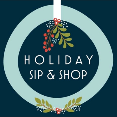 Holiday Sip, Shop and Stroll with Santa on Saturday!