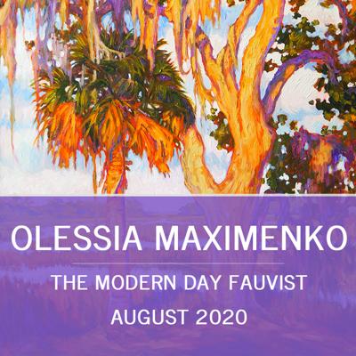 The Modern Day Fauvist: Olessia Maximenko
