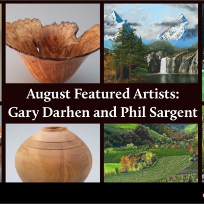 August Featured Artists: Phil Sargent and Gary Darhens