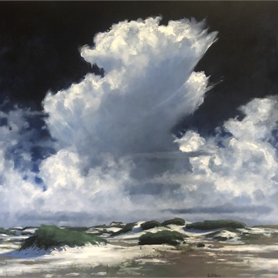 Billy Solitario, Clouds, Water, Sand