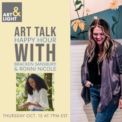 Art Talk Happy Hour with Ronni Robinson