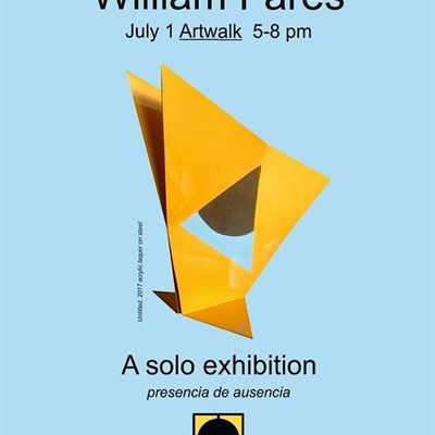 "William Fares: ""presencia de ausencia"" one man exhibition"