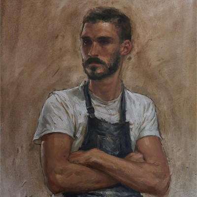 Live portrait Session Demo : Leon Doucette