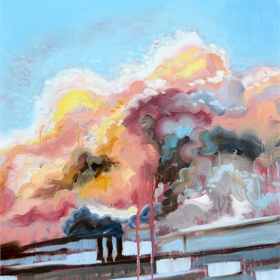Amorphous - Cloudscape Paintings by Rachel Evans