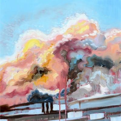 Amorphous - Cloudscape Paintings by Rachel Evans