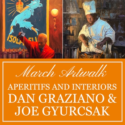 March Artwalk: Dan Graziano & Joe Gyurcsak