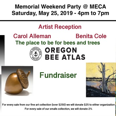June's Featured Artists: Carol Alleman/Benita Cole