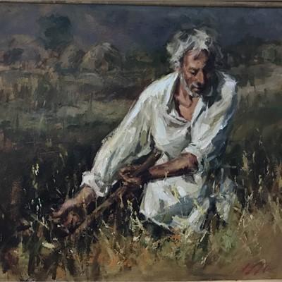 Eli Cedrone, Live Painting Demo