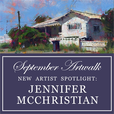 New Artist Spotlight: Jennifer McChristian