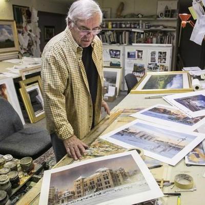 Artist Hugh Greer