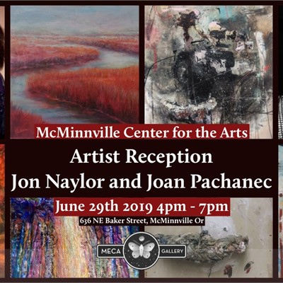 Artist Reception: Jon Naylor and Joan Pechanec