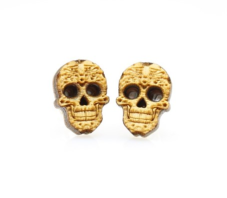 Earrings - Post Sugar Skulls 3051