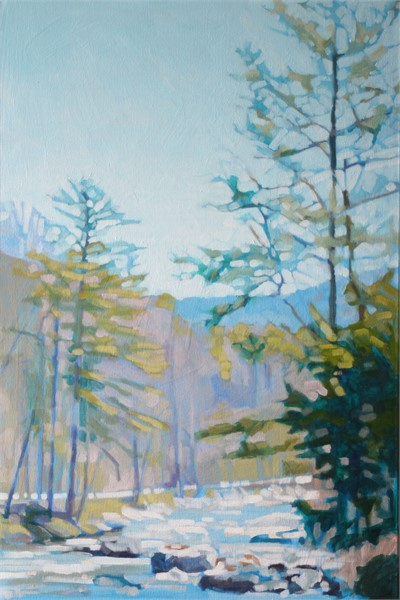 "Liz Hoag | The Gap | acrylic | 36"" X 24"" 