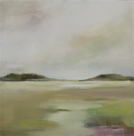 "Ingunn Milla Joergensen | Changing Seasons | Oil on Canvas | 20"" X 20"" 