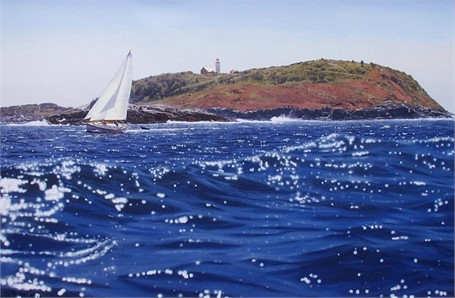 Seguin Island 16 x 24
