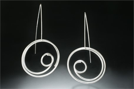 Earring Large Circle in Circle