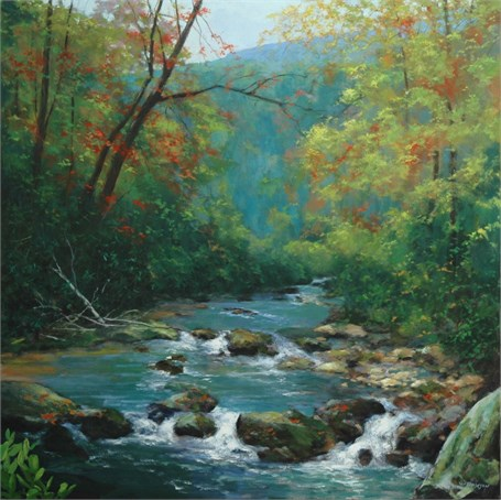 Early Fall on the Chattooga River