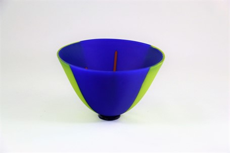 Exquisite Bowl- Blue & Green