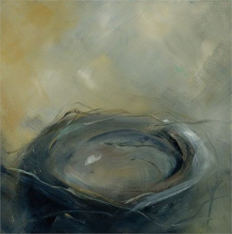 "Ingunn Milla Joergensen | Nest #3 | Oil on Canvas | 12"" X 12"" 