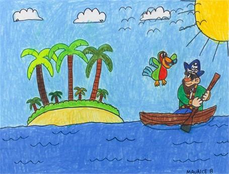 Poshi and the Pirate