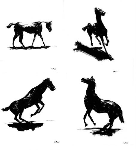 Degas Horse Series