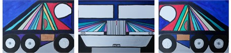 Show Truck (Triptych)