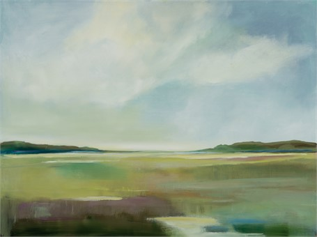 "Ingunn Milla Joergensen | Stillness | Oil on Canvas | 30"" X 40"" 