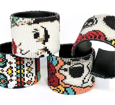 Cuff - Seed Beads - Assorted Designs