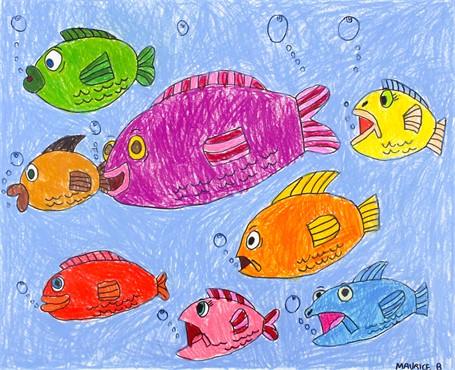 Fish's Blue Sea